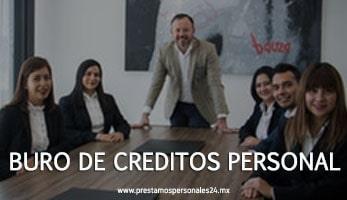 Buro de creditos personal