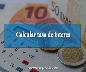Calcular tasa de interes