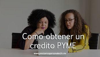 Como obtener un credito PYME