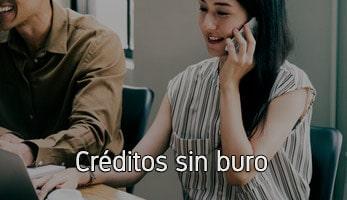 Créditos sin buro