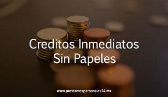 Creditos Inmediatos Sin Papeles