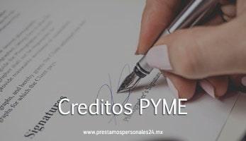 Creditos PYME