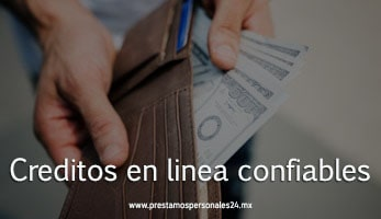Creditos en linea confiables