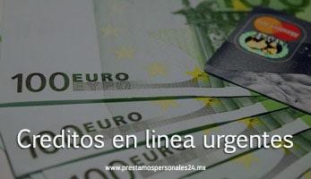 Creditos en linea urgentes