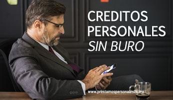 Creditos personales sin buro