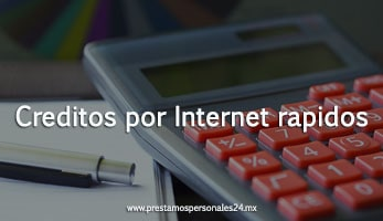 Creditos por Internet rapidos