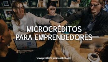 Microcréditos para emprendedores