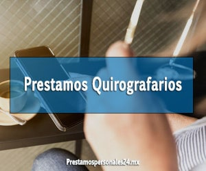 Prestamos Quirografarios