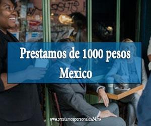 Prestamos de 1000 pesos mexico
