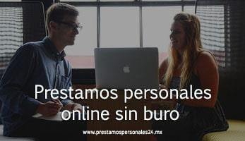 Prestamos personales online sin buro