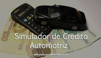 Simulador de credito automotriz