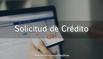 Solicitud de Crédito