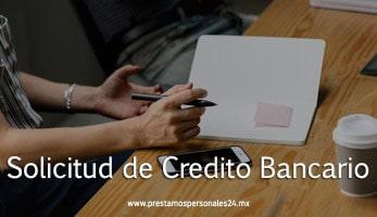 Solicitud de Credito Bancario