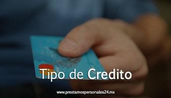 Tipo de Credito