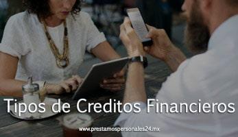 Tipos de Creditos Financieros